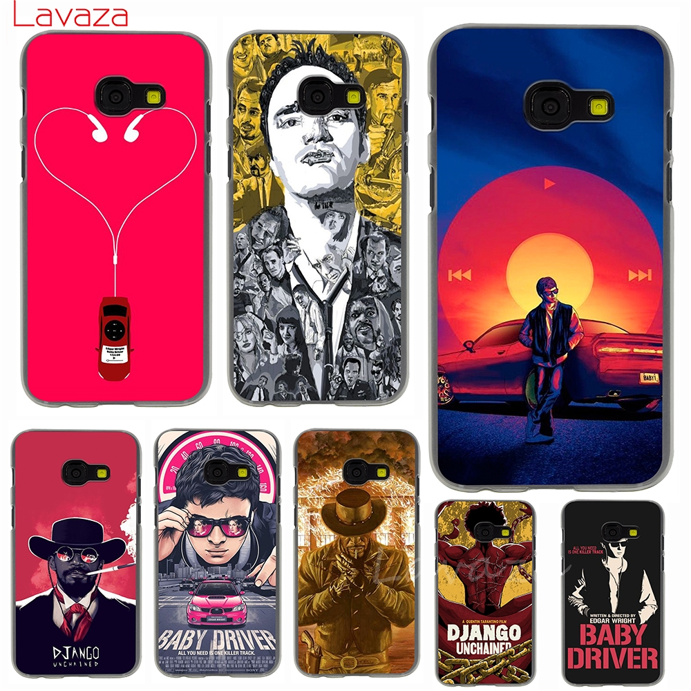 Lavaza Baby Driver Django Unchained Hard Phone Case for Samsung Galaxy J6 J7 J1 J2 J3 J5 2015 2016 2017 Prime Cover Cases image
