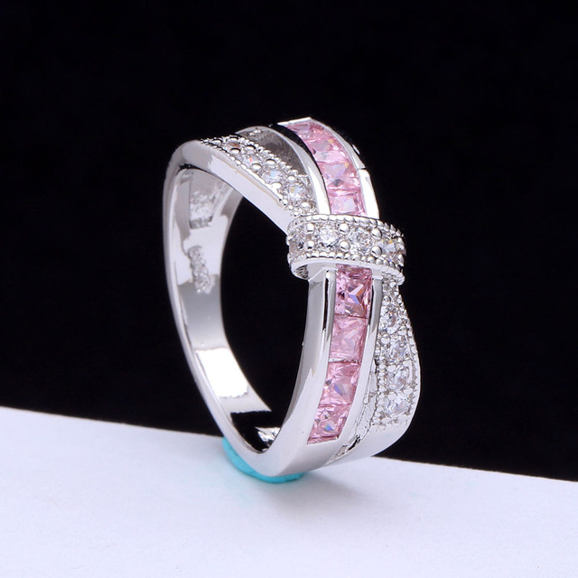 Beautiful Cubic Zirconia Ring