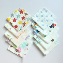 10pcs Newborn Cotton Saliva Towel Comfortable Convenient Anti-dirty Infant Handkerchief Bib/bavoirs Thin Baby Bibs Square Scarf