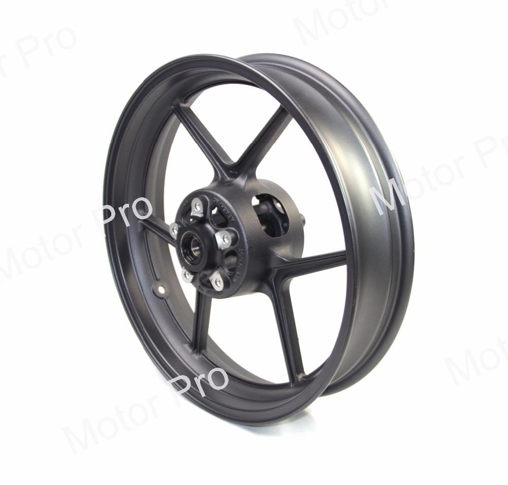 Front Wheel Rim For KAWASAKI Z750 2009-2012 2010 2011 Z 750 Motorcycle Accessoires CNC Aluminum ER6N NINJA ZX10R Z800 Z1000SX
