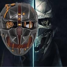 Dishonored 2 Корво аттано маска Dishonored Корво аттано шлем для игровой костюм для косплея аксессуары