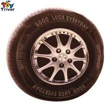 40CM Creative 3D Automobile Car Wheel TireToy Pillow Cushion Simulate Tires NASCAR Speed Racer Home Decor Birthday Gift Triver