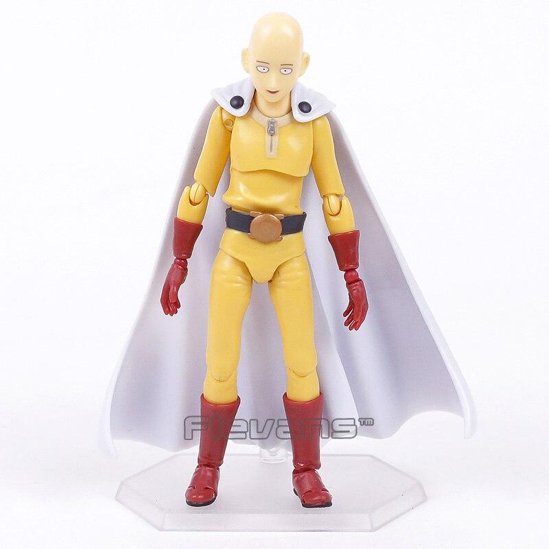 Um soco homem saitama figma 310 pvc figura de ação collectible modelo brinquedo