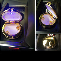 Car Styling Car Cigarette Ashtray With LED Lamp For Cadillac CTS XTS SRX ATS CT6 ESCALADE