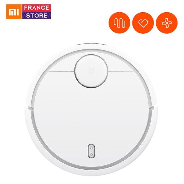 Versión Global Xiaomi aspirador robótico con teléfono Mijia WIFI Control remoto barrido máquina para casa Filtro de polvo esterilizar