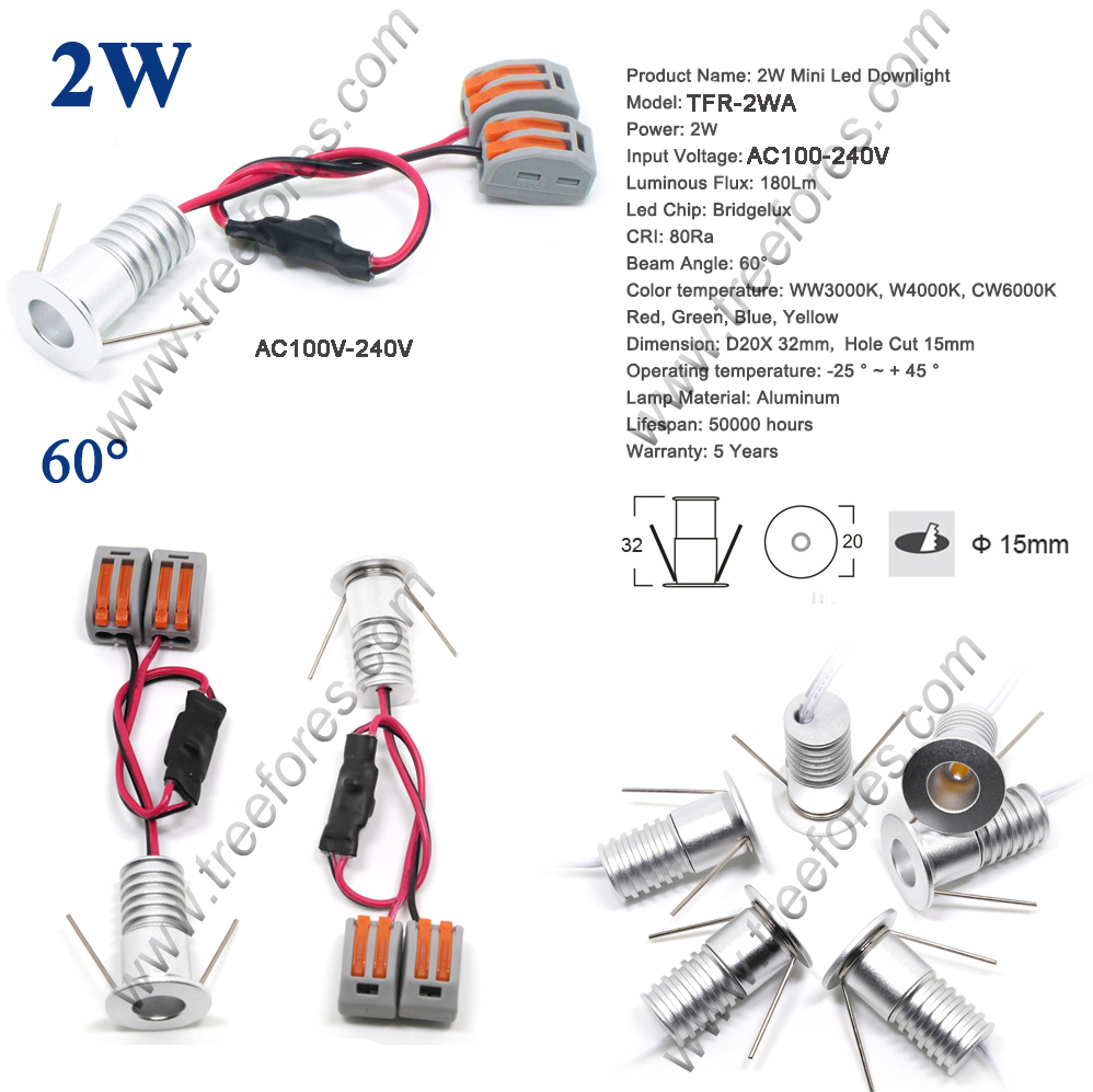 medium resolution of 2w 220v led bulb light 60 degree