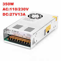 DC 27V Power Supply 7.5A 9.3A 13A 14.8A AC-DC High-Power PSU 200W 250W 350W 400W 100-240VAC DC27V