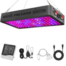 Phlizon 1200W grow lamp LED for plant hydroponic light greenhouse bulb full spectrum 220v 660nm