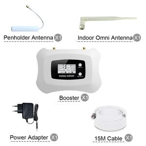 Image 5 - ATNJ LCDจอแสดงผล 4G LTEโทรศัพท์มือถือสัญญาณRepeater GSM 70dB GAIN DCS 1800MHz 2G 4G cellularสัญญาณแอมพลิฟายเออร์ 3 เสาอากาศ
