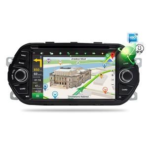 """Image 3 - 4 グラム RAM 7 """"アンドロイド 9.0 カー Dvd プレーヤー Tipo Egea 2015 2016 2017 カーステレオ GPS ナビゲーション RDS ラジオ FM 無線 Lan マルチメディア"""