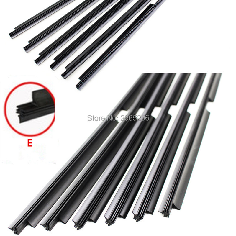 KBPEIJIN car Windscreen Wipers Rubber strip Wiper Blade for Benz w203 w204 w205