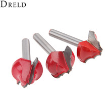 DRELD 1pc 6mm Shank CNC Wood Cutter Insert Router Bits Engraving Cutting Milling Wookwooking Carpentry Tools Fresa
