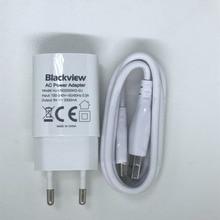Blackview BV5000 BV6000 USB адаптер зарядное устройство ЕС вилка путешествия импульсный источник питания+ Usb кабель Линия передачи данных