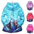3Color Chidren Winter Warm Cotton Jacket&Coat,Baby Girls Korean Cartoon Long Sleeve Outwear,Kids Winter Warm Clothing