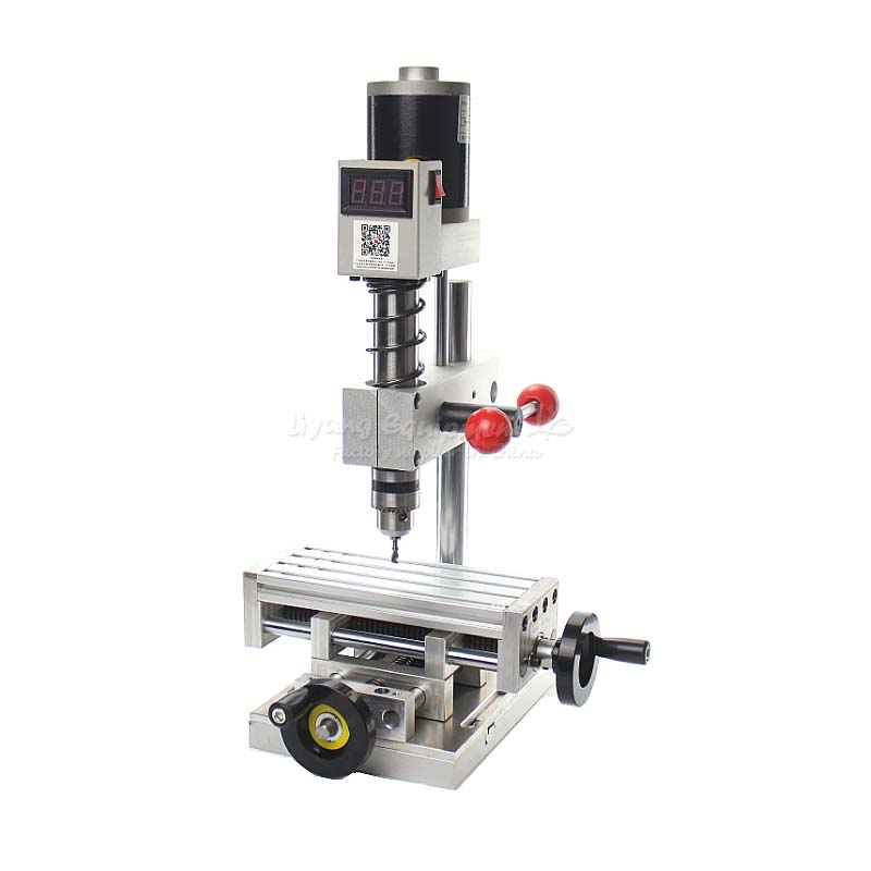 The second generation Miniature precision bench drill Tapping tooth machine C00106 no tax to russia miniature precision bench drill tapping tooth machine er11 cnc machinery