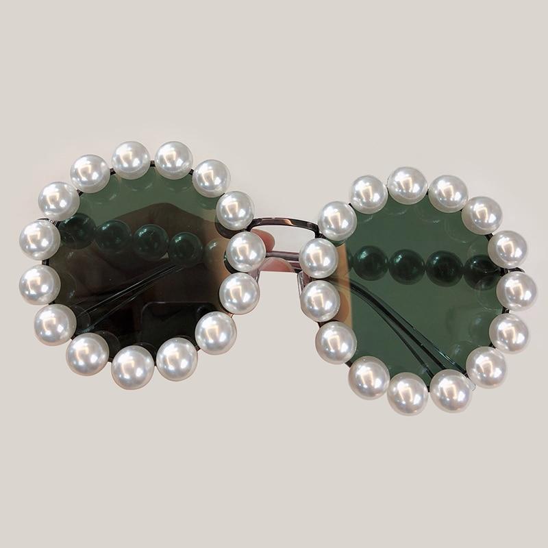 Qualität no2 Perlen Hohe Weibliche Shades Runde Sonnenbrille Luxus Neue Für no3 Sunglasses Marke No1 Uv400 Sunglasses Frauen Sunglasses Designer 2019 Ca1PfCwqn