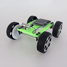 DIY small font b toy b font car DIY solar font b toy b font electric