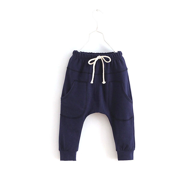 Sports Fitness Kid Toddler Child Harem Pants Baby Boy Girl Trousers Bottoms