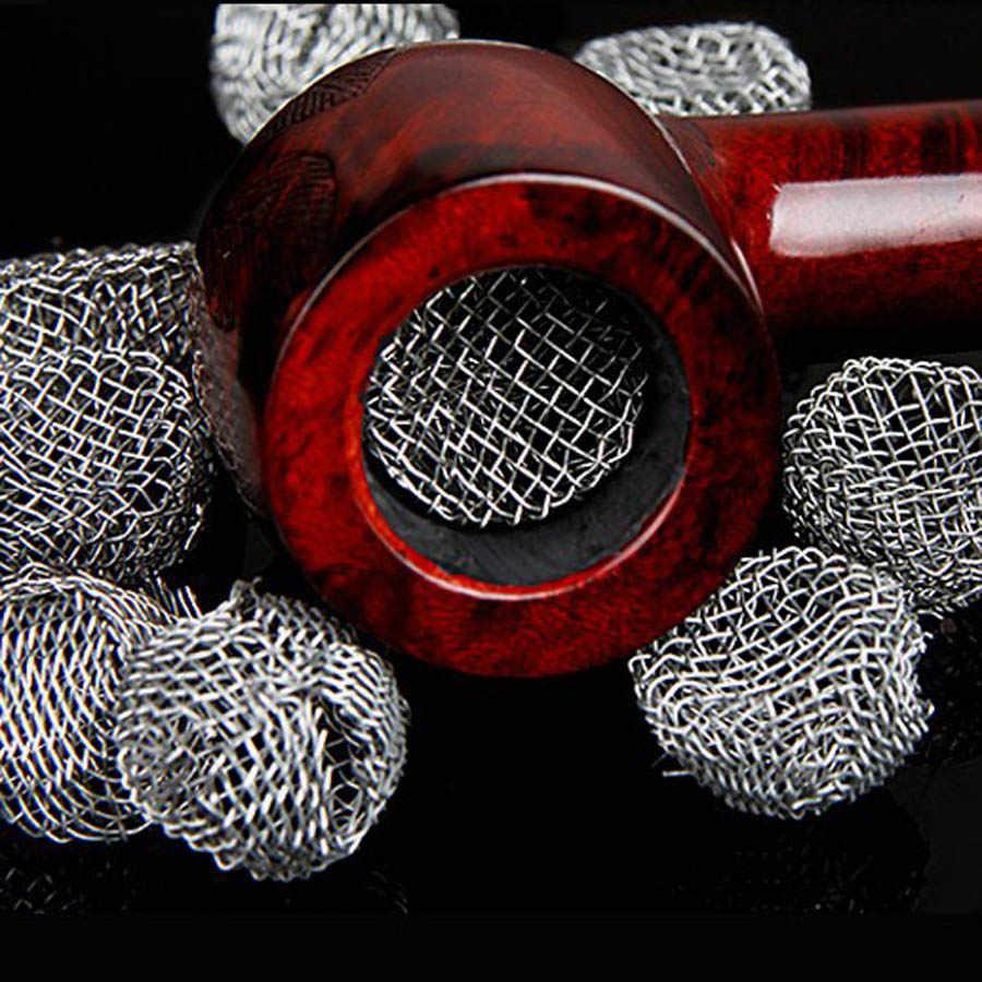 الكثير 10 قطعة شبكة أنابيب التبغ من النار الأنابيب تصفية الأنابيب اكسسوارات أدوات خاصة التدخين الأنابيب ملحقات نظيفة الأنظف أدوات