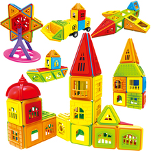 Set Magnet Construction-Toys Building-Blocks Designer Children DIY Model 3D Or 402PCS