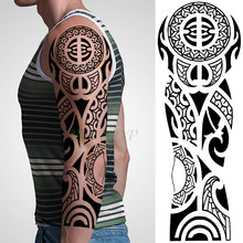 Popularne Tribal Tatuaż Rękaw Kupuj Tanie Tribal Tatuaż