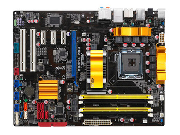 Asus P5Q Turbo Desktop Motherboard LGA 775 DDR2 USB2.0 16GB For Core 2 Duo Quad P45 Original Motherboards On Sales