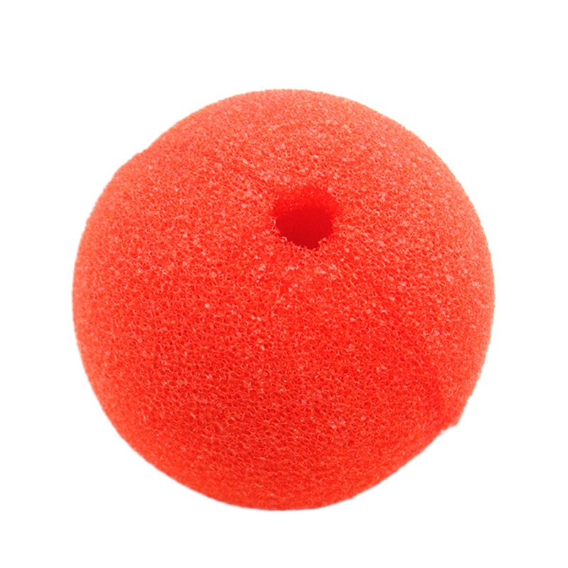 1pc Red Nose Sponge Circus Clown Nose Comic Party Supplies Halloween Accessories Costume Magic Dress Party Supplies in Party DIY Decorations from Home Garden