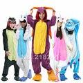 Shineye Unicorn Stitch Jirafa Panda Unisex Adultos Franela Pijamas Cosplay de la Historieta Animal Bodies Pijamas Para Hombres de Las Mujeres