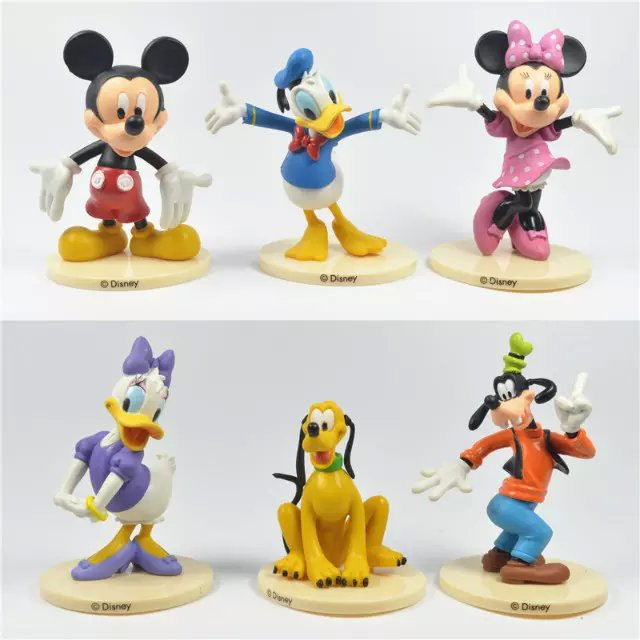 っDisney envío libre 6 unids/set Mickey Mouse Minnie Mouse Pato ...