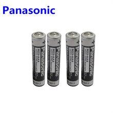 4 шт. Panasonic R03 1,5 в AAA батареи щелочные батареи без ртути сухой аккумулятор для электрической игрушки фонарик часы мышь