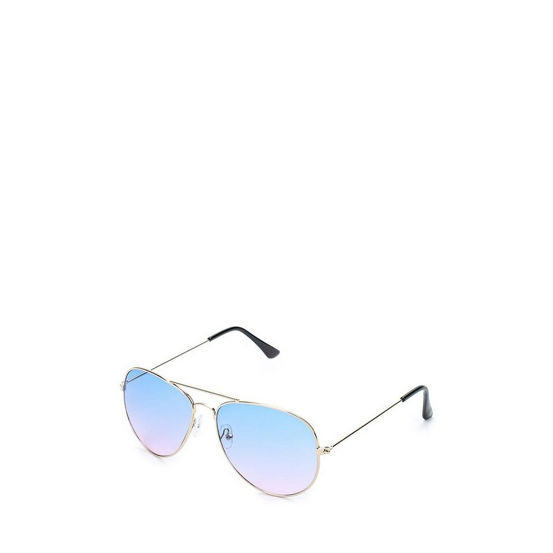 Sunglasses MODIS M181A00477 sunglasses glasses for female TmallFS stylish pink crossbar cut out mirrored sunglasses