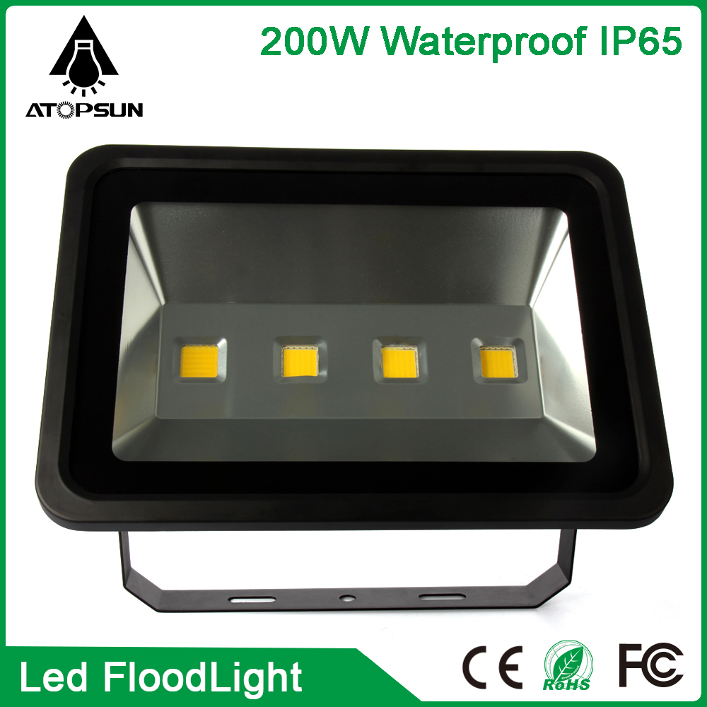 10pcs 200W LED Flood Light IP65 AC 85-265V projecteur led exterieur Led Floodlight projecteur Led spotlight outdoor lighting