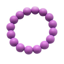 BPA Free Silicone Baby Teething Beads Soother Chain Bracelet for Boys or Girls Chewable Toddler Infant Teething Toys
