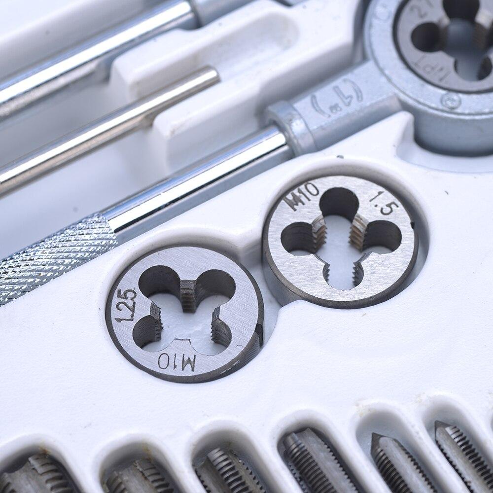 40 tk legeeritud terasest kraani- ja die-komplekti keermetööriist - Käsitööriistad - Foto 4