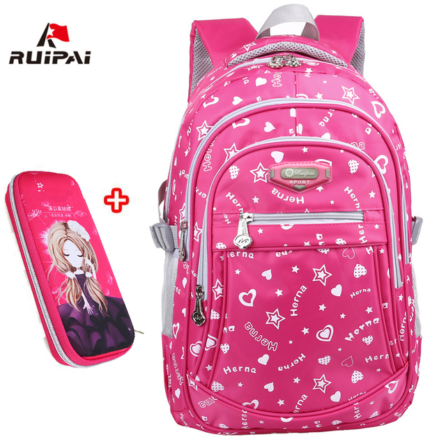 c23d3fc9b1 RUIPAI Oxford School Bags for Teenage Girls Waterproof Women School Backpack  Fashion Student Book Bag Children Backpacks