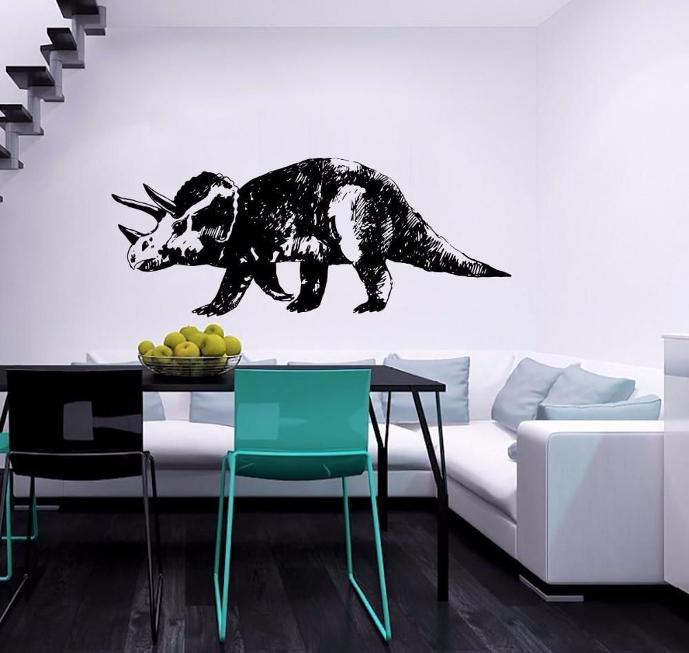 YOYOYU Art Home Decor Dinosaur Animal Housewares Wall Vinyl Decal Design Murals Interior Bathroom Sticker WW-464