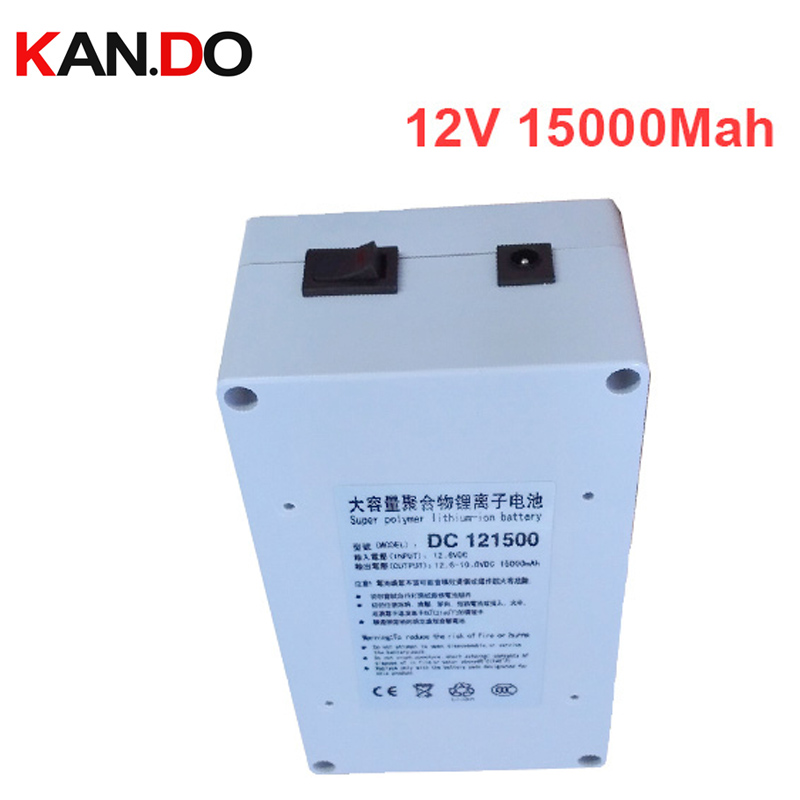 W/ case 15000 Mah 5A current discharge,DC 12V battery pack lithium polymer battery pack battery,li-ion polymer battery 12.6V 1A real 15000 mah 5a current discharge li ion polymer battery 2a charger dc 12v battery pack lithium polymer battery pack battery