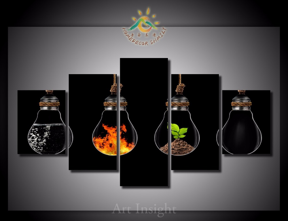 What Are The Six Main Elements Of Art : Pieces set the four elements of life wall art