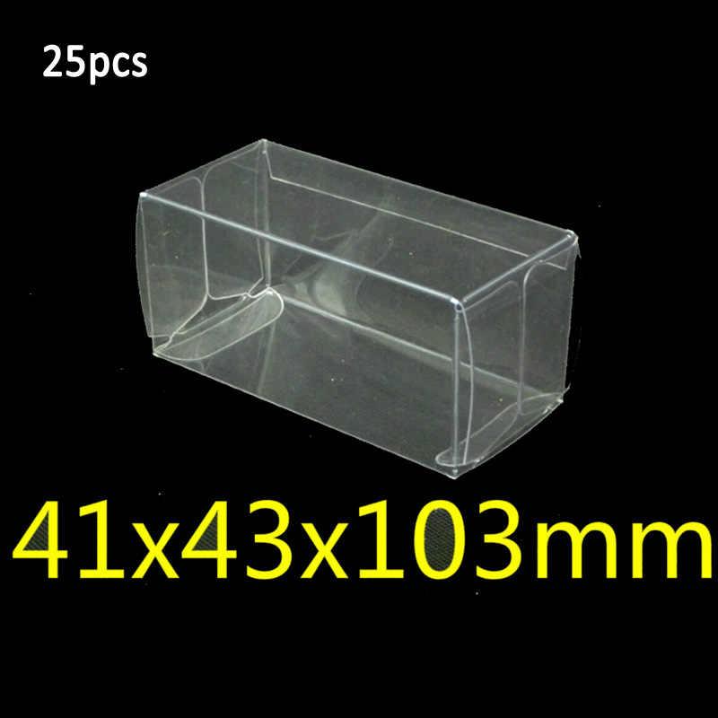 41*43*103 milímetros Box 20/25/50 pcs Exibição 1: 64 Protetor Caso Universal Carro de brinquedo PVC Profissional Venda Quente 2018 Mais Novo