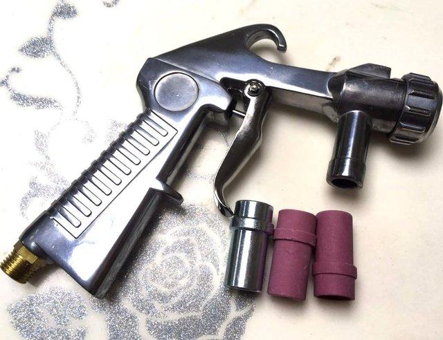 acheter pistolet de sablage sableuse pistolet pour sbc220 sbc350 cabine de. Black Bedroom Furniture Sets. Home Design Ideas