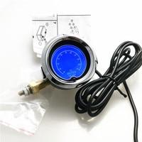 Car 2 52mm LCD Digital Water Temp Gauge Universal Adjustable Water Temperature Auto Gaug