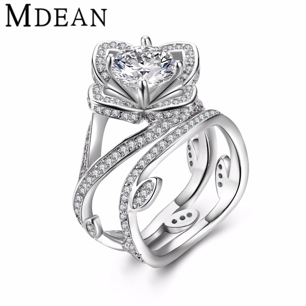 popular bridal ring sets white gold-buy cheap bridal ring sets