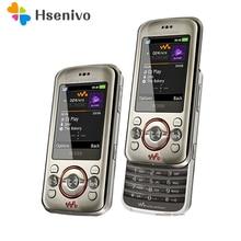 c123923a0ef 100% Original desbloqueado Sony Ericsson W395 teléfono móvil 2MP Bluetooth  FM W395 teléfono celular envío gratis