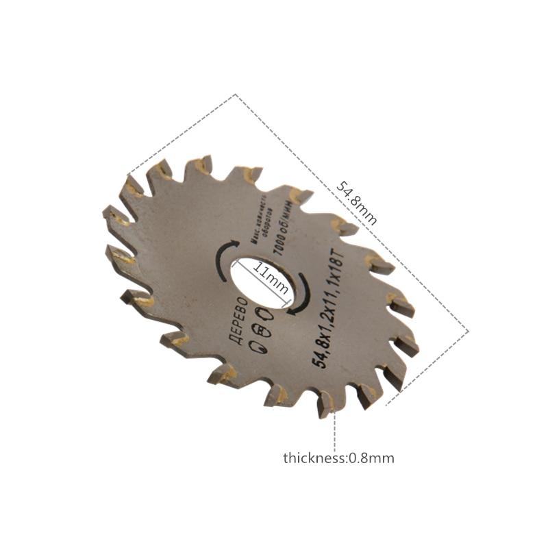 4 vnt pjūklų pjovimo diskai HSS sukamojo įrankio diskiniai - Ašmenys pjūklams - Nuotrauka 4