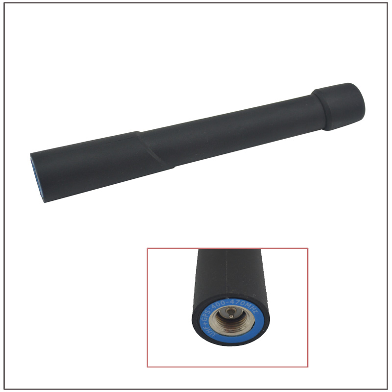 Length 88mm 400-470MHz UHF Helical SMA-Male Antenna GPS Combination