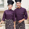 New Style Food Service Multicolor Chef Jacket Restaurant Hotel Kitchen Cook Uniform Clothes Chinese Style Chef Uniform