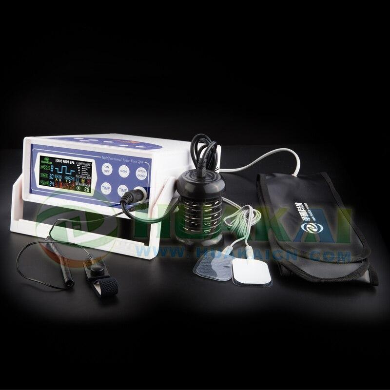 Economical detox foot spa chi spa machine for single user new aqua chi pro detox foot spa bio energy machine
