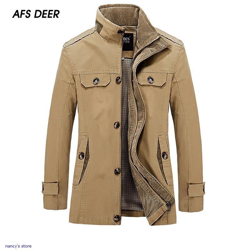 Automne Nouvelle Mode Hommes Casual Coton Vestes Hommes Hiver Survêtement  Collège Vêtements Homme Vestes Slim Manteau Chaud Hn6830 1260155095e