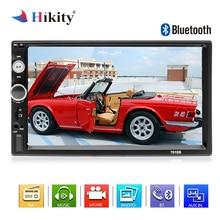 """Hikity 2 din Auto Radio Bluetooth Autoradio MP5 Multimedia Player 7 """"Schermo di Tocco di HD Display Digitale Supporto Videocamera vista posteriore"""
