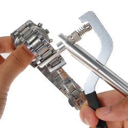 Набор инструментов для часов Металлические Часы инструменты стальной ремешок шпильки для удаления плоскогубцы звено Настройщик с 3